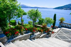 Isola Bella Włochy Obraz Stock