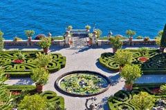 Isola Bella wyspa, Włochy Fotografia Royalty Free