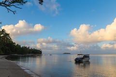 Isola Beqa, Fijii di paradiso Fotografie Stock