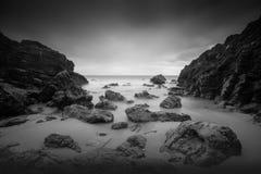 Isola 2 in bianco e nero della capra Fotografia Stock Libera da Diritti