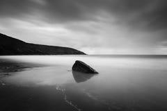 Isola 2 in bianco e nero della capra Fotografie Stock Libere da Diritti