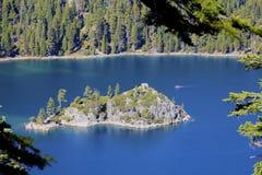 Isola California del lago Tahoe Immagini Stock Libere da Diritti