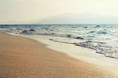 Isola con seaview Fotografia Stock