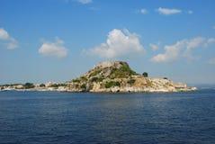 Isola, Corfù Fotografia Stock