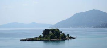 Isola Corfù del topo fotografia stock