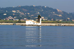 Isola Corfù, mare ionico, Grecia Immagini Stock