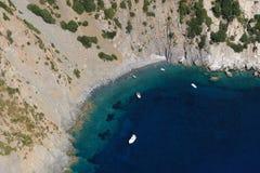 Isola Costa Del Zelujący Obrazy Royalty Free