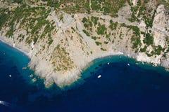 Isola Costa Del Zelujący Fotografia Royalty Free