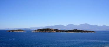 Isola Crete Immagini Stock