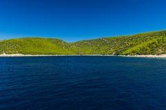 Isola croata Brac Fotografia Stock Libera da Diritti