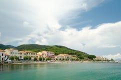 Isola d'Elba,马尔恰纳马里纳 免版税库存照片