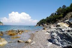 Isola-d'Elba, cavo, Jachthafen 1 lizenzfreie stockbilder