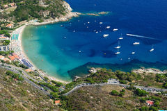 Isola d'Elba-Cavoli beach Stock Images