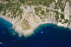 Isola d'Elba-Costa del Sole Royalty-vrije Stock Fotografie