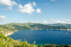 Isola d'Elba, Enfola 库存照片