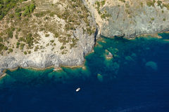 Isola d'Elba-Fetovaia cliffs Royalty Free Stock Photos