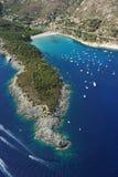 Isola d'Elba-Fetovaia plaża Fotografia Royalty Free