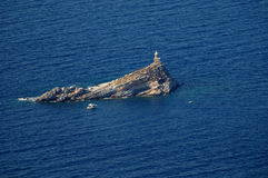 Isola d'Elba-Lo Scoglietto falezy Zdjęcia Stock