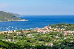 Isola d'Elba, Marina di Campo (Italy) Royalty Free Stock Image
