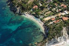 Isola d'elba-padulella plaża Obrazy Royalty Free