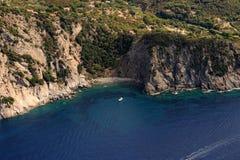 Isola d'elba-patresi plaża Fotografia Stock