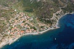 Isola d'Elba-Pomonte plaża Obraz Stock