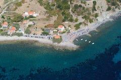 Isola d'Elba-Pomonte plaża Zdjęcia Royalty Free