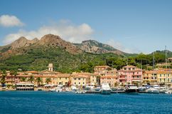 Isola d'Elba, Porto Azzurro Stock Image