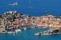 Isola d'Elba-Portoferraio Zdjęcie Royalty Free