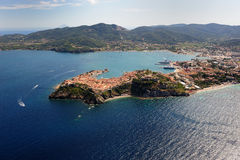 Isola d'elba-portoferraio schronienie Zdjęcia Stock