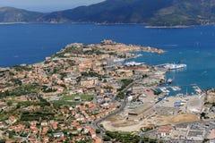Isola d'elba-portoferraio schronienie Obrazy Royalty Free
