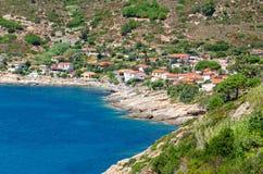 Isola d'Elba (Tuscany Italy) Chiessi Royalty Free Stock Photography