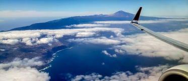 Isola dall'aereo, Spagna di Tenerife immagine stock libera da diritti