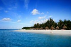 Isola dei Maldives Fotografie Stock Libere da Diritti