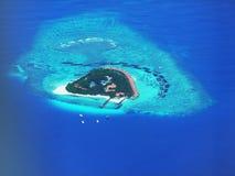 Isola dei Maldives Immagine Stock Libera da Diritti