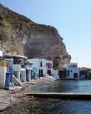 Isola dei Milos di Klimi Fotografia Stock