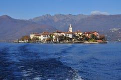 Isola dei Pescatori, Jeziorny Maggiore, Włochy (lago) obrazy stock