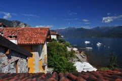 Isola dei Pescatori, lake Maggiore, Italy Stock Image