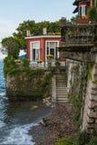 Isola dei Pescatori in the Maggiore lake, Piedmont, Italy Stock Photo