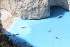 Isola del  del † Ð¸Ñ di Ñ€Ð?Ñ della Grecia Ð «di Zacinto fotografia stock