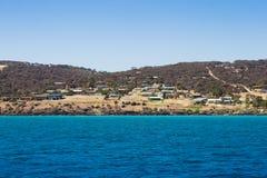 Isola del canguro Immagine Stock Libera da Diritti