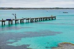 Isola del canguro, baia di Vivonne Fotografia Stock Libera da Diritti