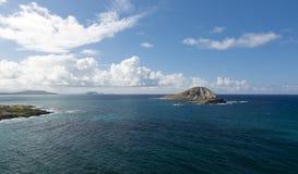 Isola del coniglio, Kailua, Hawai Fotografia Stock Libera da Diritti
