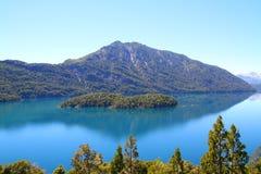 Isola del cuore - Patagonia - l'Argentina Fotografie Stock Libere da Diritti