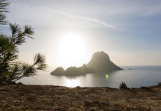 Isola del ¡ di es Vedrà Fotografie Stock