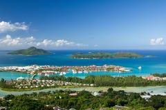 Isola del Eden, Seychelles Immagini Stock