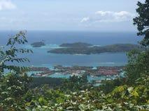 Isola del Eden, Seychelles Fotografia Stock