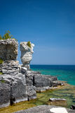 Isola del Flowerpot immagine stock libera da diritti