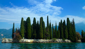 Isola del Garda Royalty-vrije Stock Fotografie