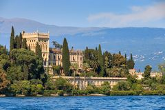Isola Del Garda, Italien lizenzfreies stockbild